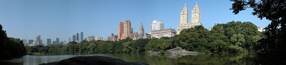 The iconic Central Park in New York