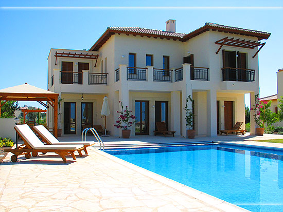 Villas offer privacy away from other holidaymakers